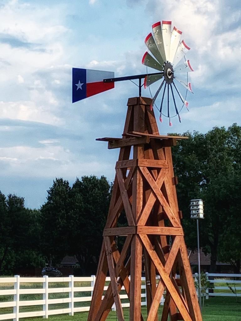 """The """"X"""" windmill base by louannwarren"""