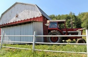 24th Aug 2020 - Barn and tractor