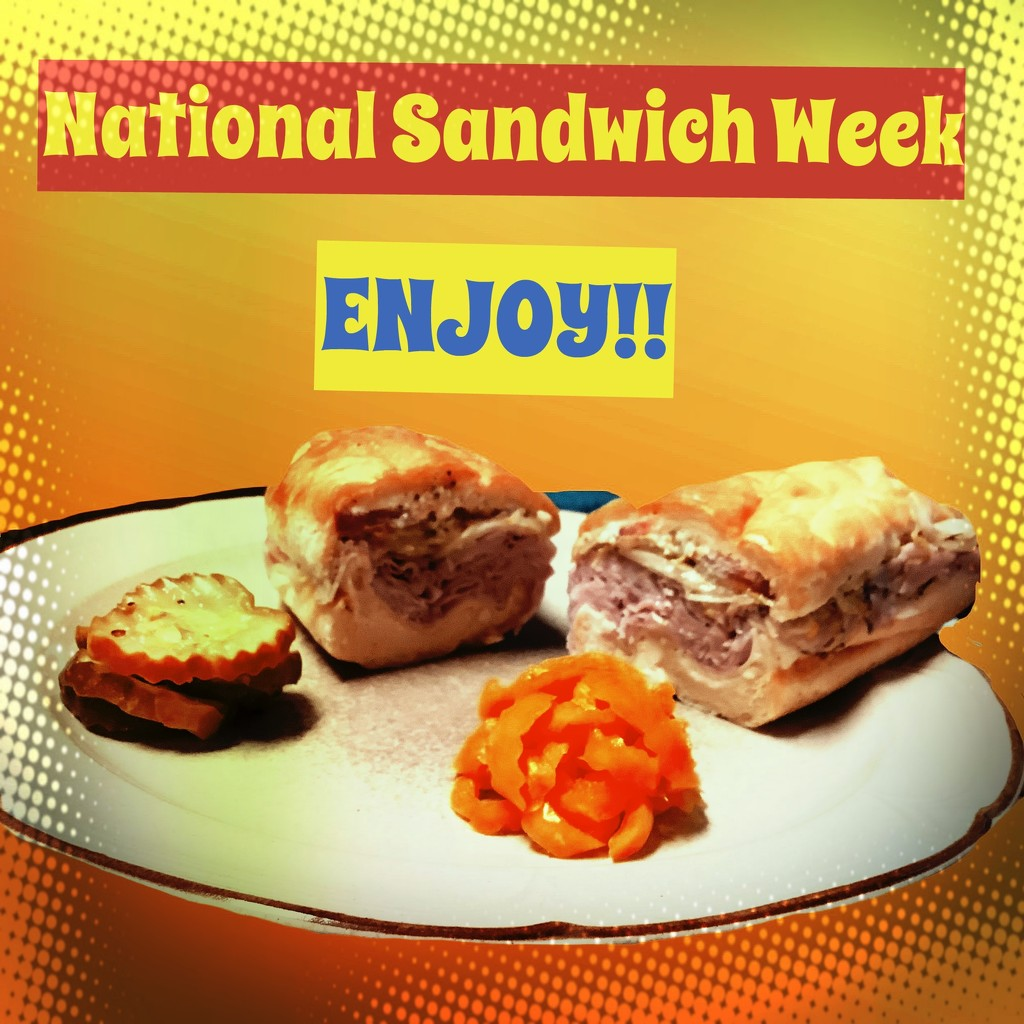 Get Pushed 422 Ad for Sandwich Week by kathyboyles