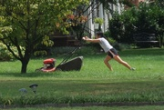 27th Aug 2020 - Lawn Yoga