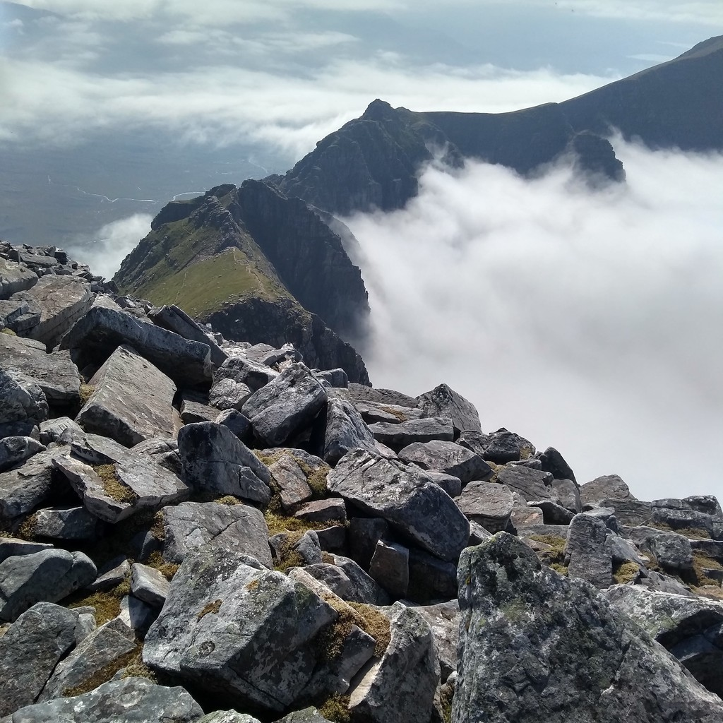 Liathach, Torridon by clairemharvey