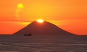 29th Aug 2020 - Sun setting in the volcano