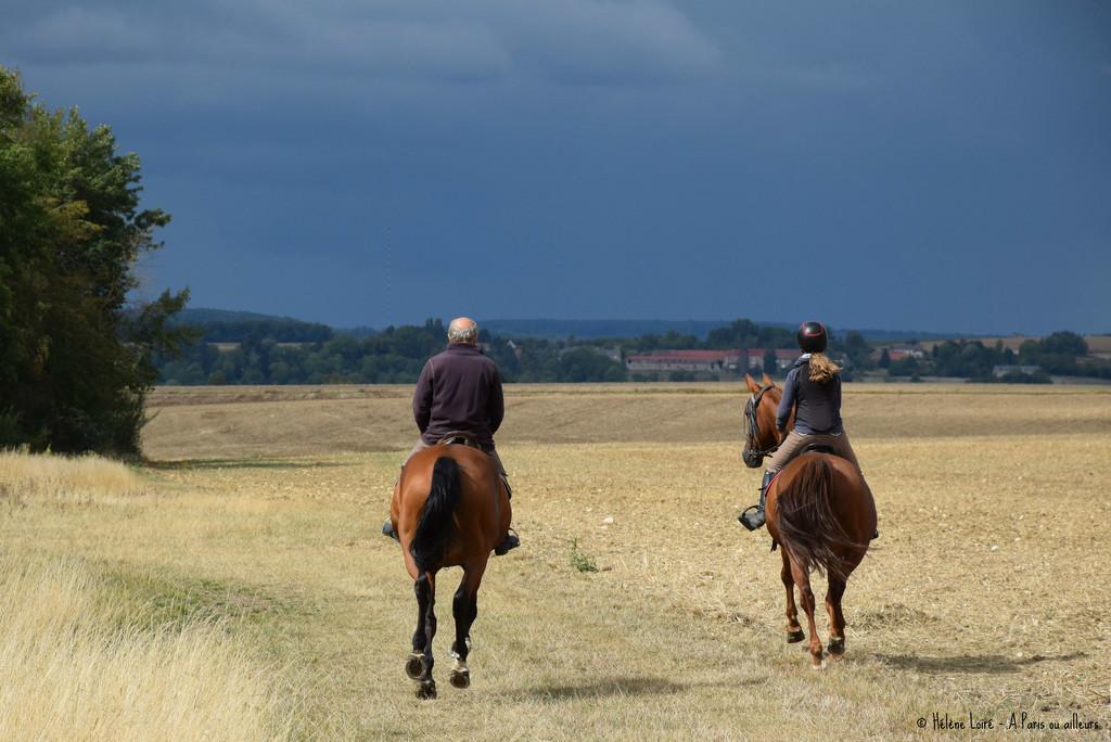 horse riders by parisouailleurs