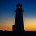 Peggy's Cove lighthouse by novab