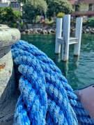 1st Sep 2020 - Rope on the boat.