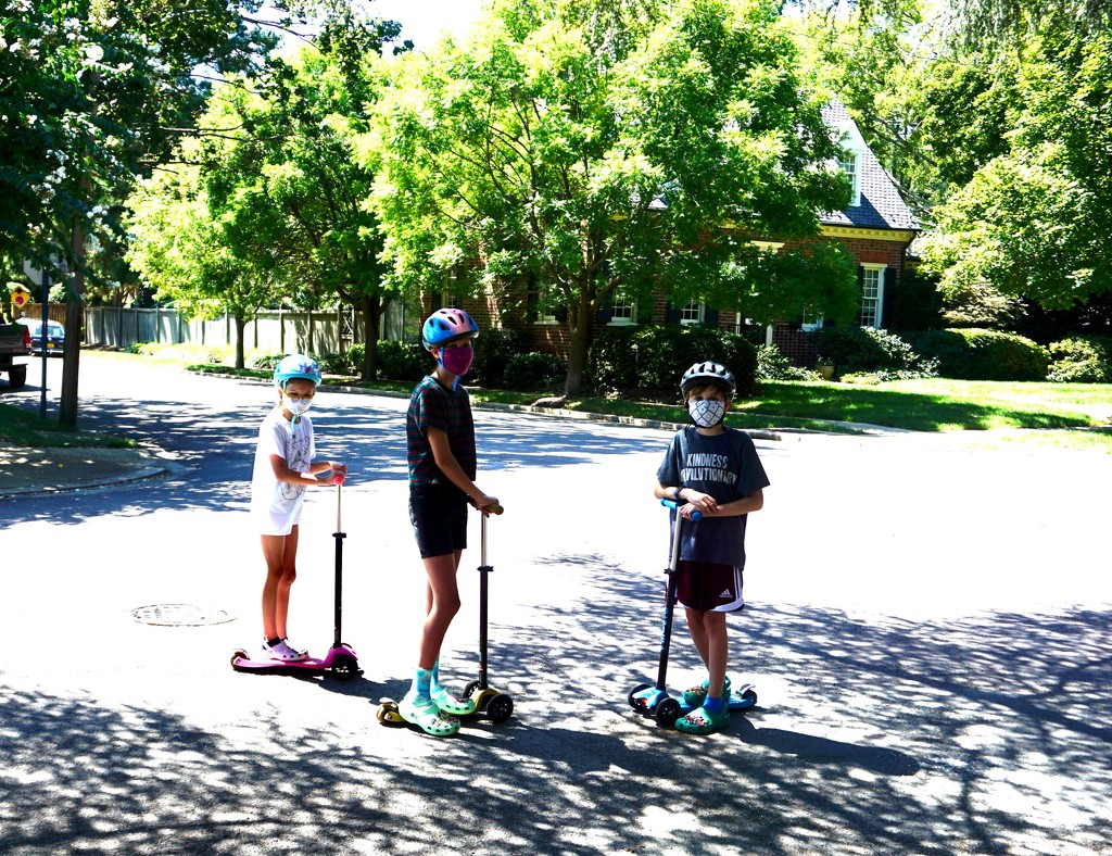 Sunday Scooters by allie912