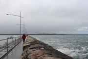 31st Aug 2020 - Walking out on the breakwater