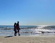 31st Aug 2020 - Enjoying the last walks by the sea