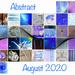 Abstract August Calendar