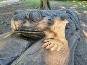 31st Aug 2020 - Frog sculpture