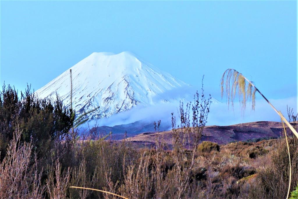 National Park Mount Ngauruhoe by sandradavies
