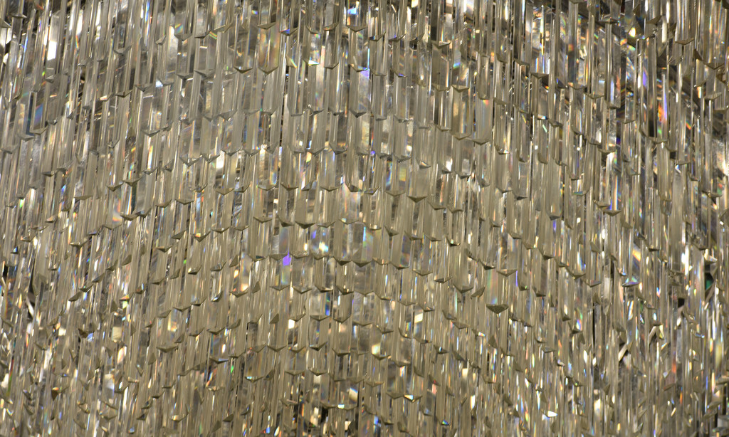 Chandelier abstract by homeschoolmom