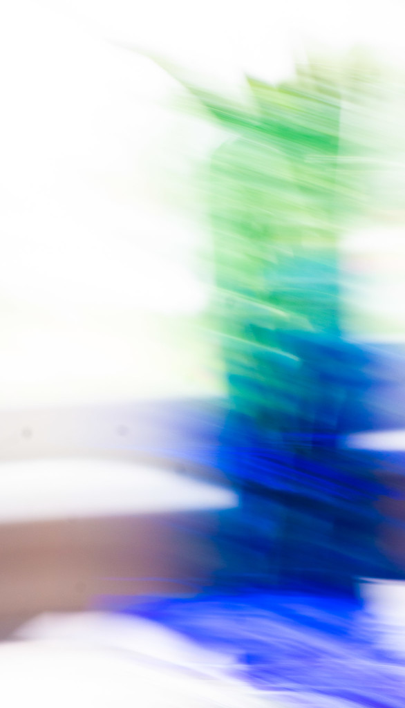 Abstract in blue and green by randystreat