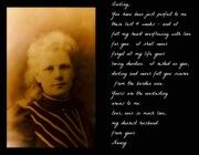1st Sep 2020 - Annie's song