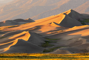 2nd Sep 2020 - Sunset Across the Dunes
