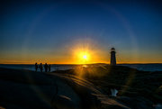 29th Aug 2020 - Lens flare at Peggy's Cove