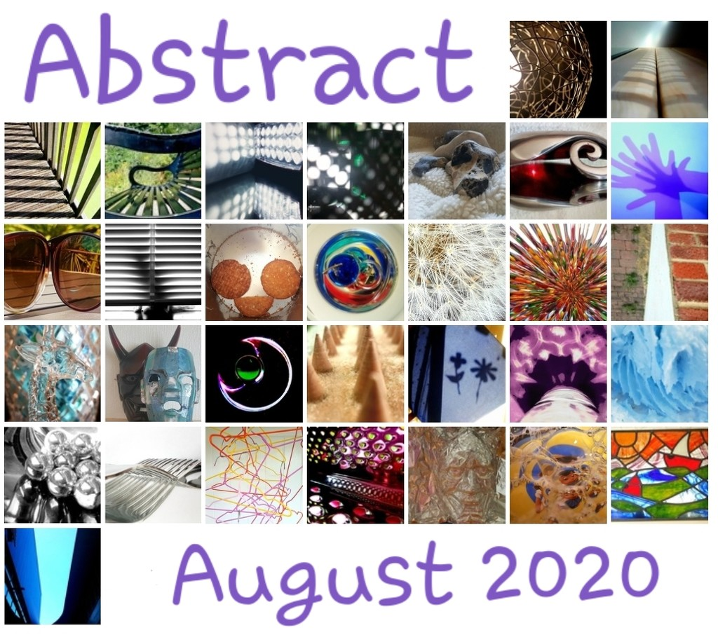 Abstract August 2020 by serendypyty