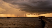 2nd Sep 2020 - Rainy Sunset Tonight!