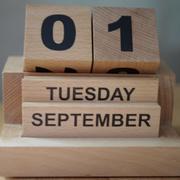 1st Sep 2020 - 2020-09-01