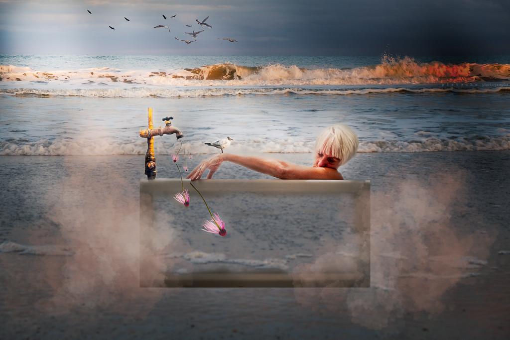 bath time on the beach by pistache