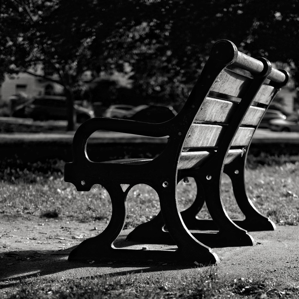 Public Bench by 4rky