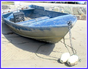 4th Sep 2020 - The Blue boat