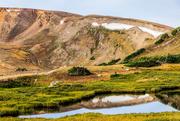 4th Sep 2020 - Rocky Mountain Lake Reflection