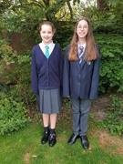4th Sep 2020 - Back to School for Freya and Charlotte