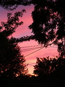 2nd Sep 2020 - Sunset at Home