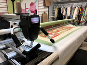 2nd Sep 2020 - Log cabin on a longarm
