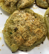 3rd Sep 2020 - Baked green tomatoes