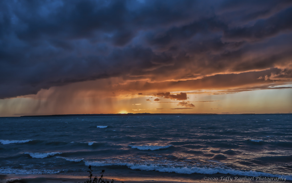 Storm Across the Lake by taffy