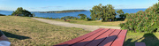 4th Sep 2020 - Pano taken from picnic table at Fort Williams