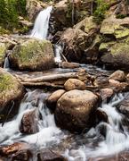 5th Sep 2020 - Rocky Mountain Waterfall