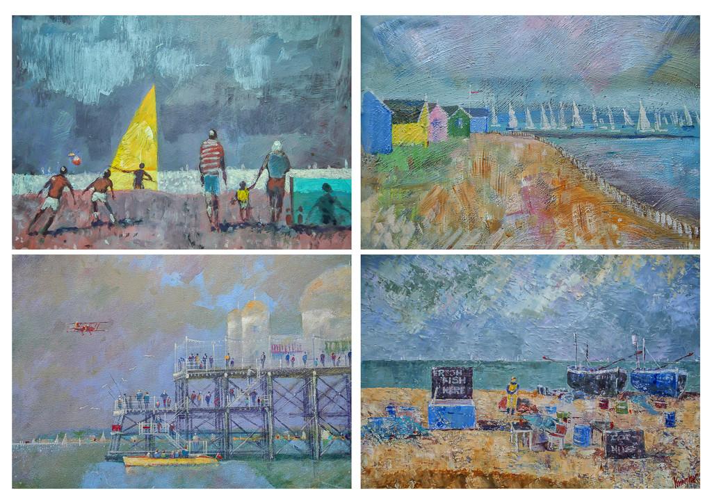 Paintings by pamknowler