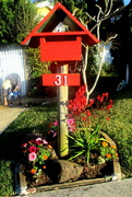 9th Sep 2020 - nice presentation of a letter box down the road from me
