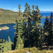 Emerald Bay Lake Tahoe and Fannette Island