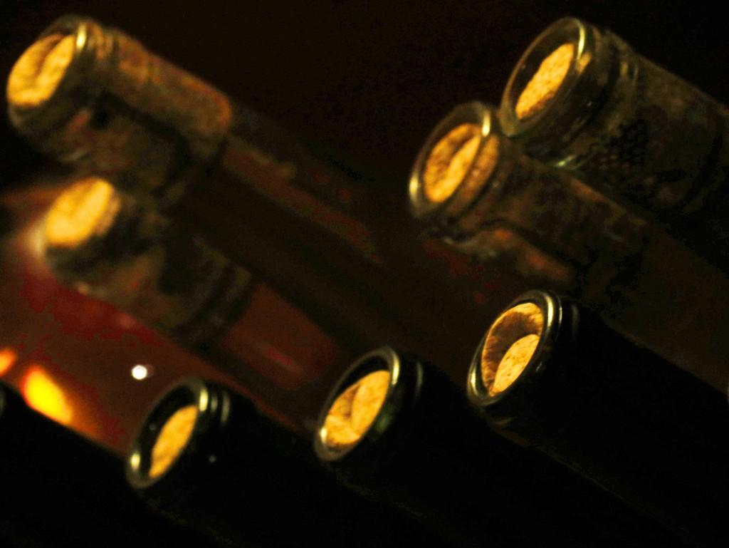 Bottle of Wine by grammyn