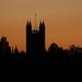 Bath Abbey at sunset by neiljforsyth