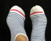10th Sep 2020 - Striped Socks