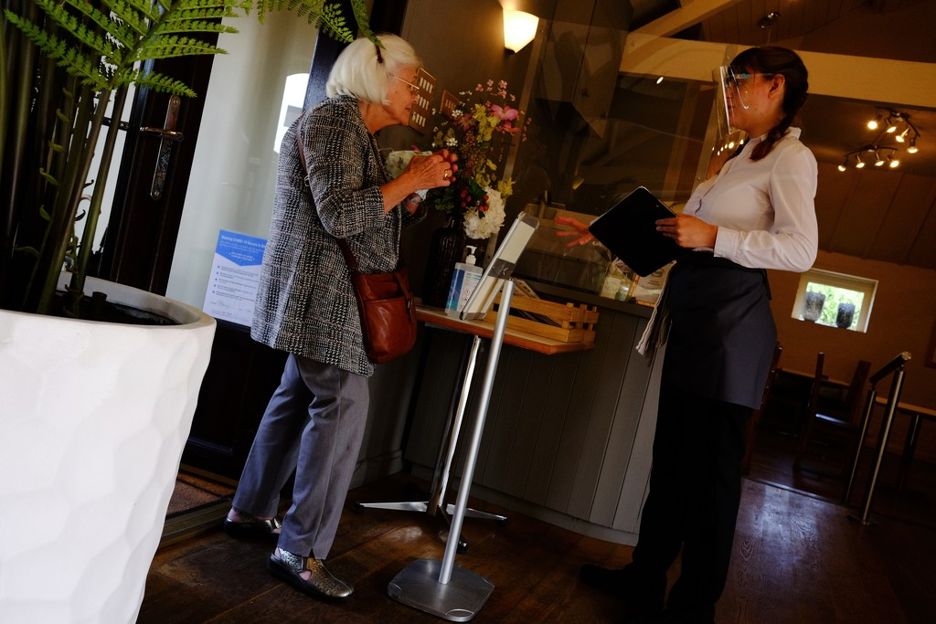 Social Distancing in the Coffee Shop by allsop
