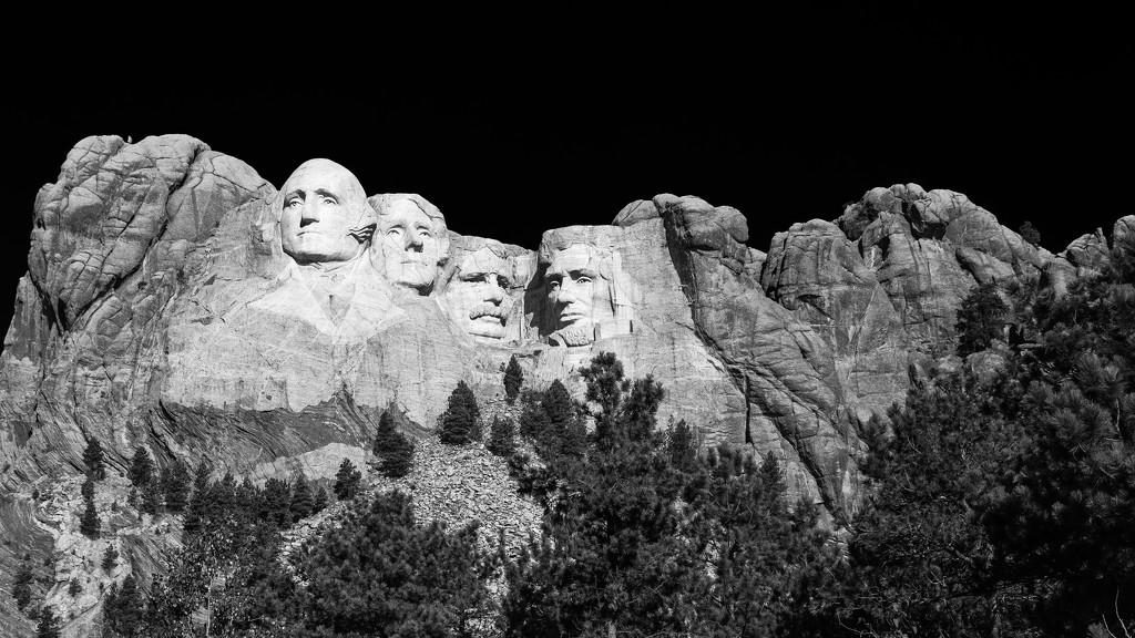 Mount Rushmore by photograndma