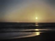 10th Sep 2020 - Moon rise over the Atlantic Ocean