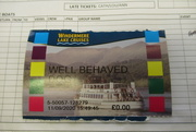 11th Sep 2020 - well-behaved dog ticket
