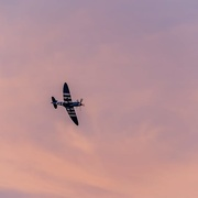 11th Sep 2020 - Spitfire at Sunset