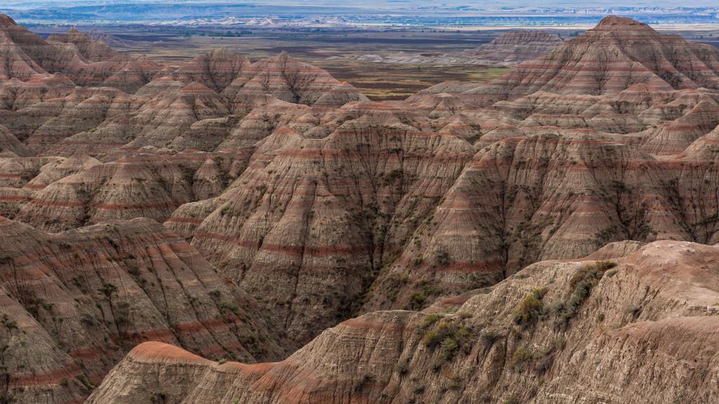 Badlands NP Patterns by photograndma