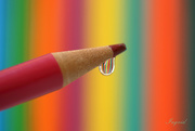 13th Sep 2020 - Pencil with droplet