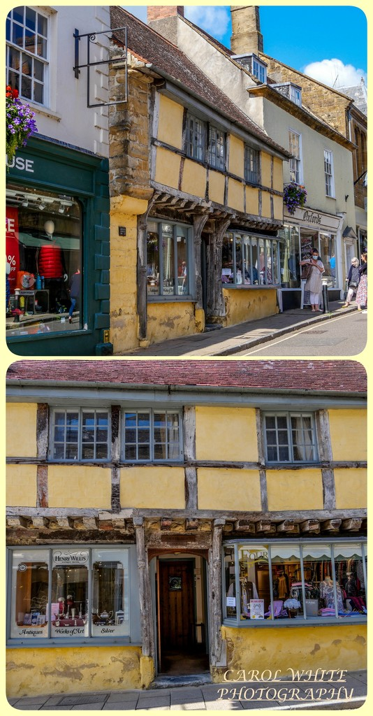 OLD BUILDING,SHERBORNE (grade 2 listed) by carolmw