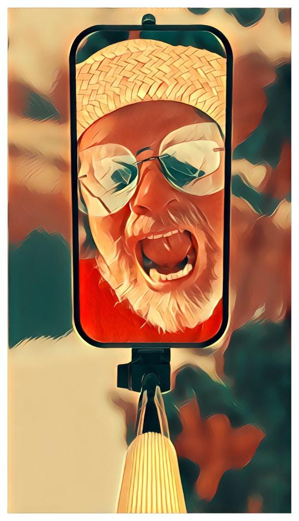Selfie-On-A-Stick... by bankmann