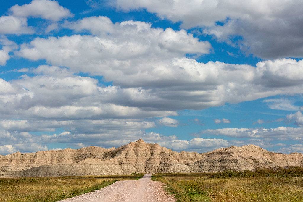 Badlands Under the Clouds by photograndma